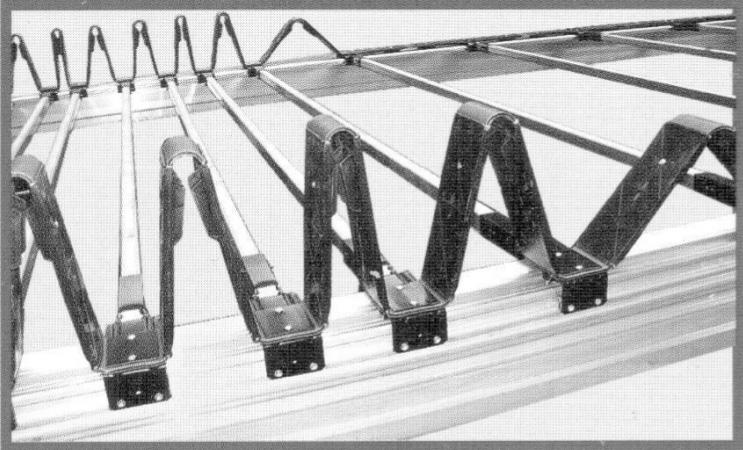 Механизм сдвижной крыши полуприцепа своими руками